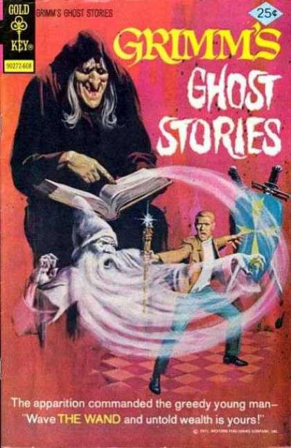 Grimm's Ghost Stories 32 - Wand - Wizard - Scary - Spooky - Man