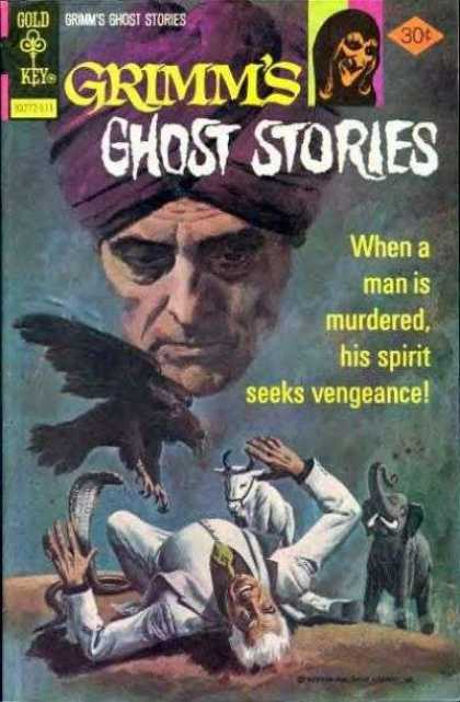 Grimm's Ghost Stories 35 - Spirit - Purple Turbin - Black Bird - Elephant - Snake