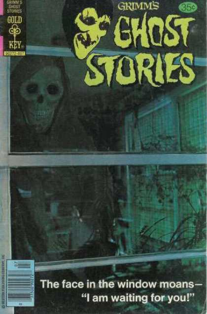 Grimm's Ghost Stories 45 - Face - Window - Skeleton - Death - Scary