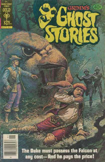 Grimm's Ghost Stories 54 - Gold Key - Tree - Cap - The Duke - The Falcon