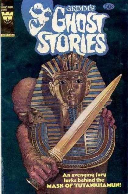 Grimm's Ghost Stories 55 - Mummy - Dagger - Sarcophogus - Tomb - Mask Of Tutankhamun