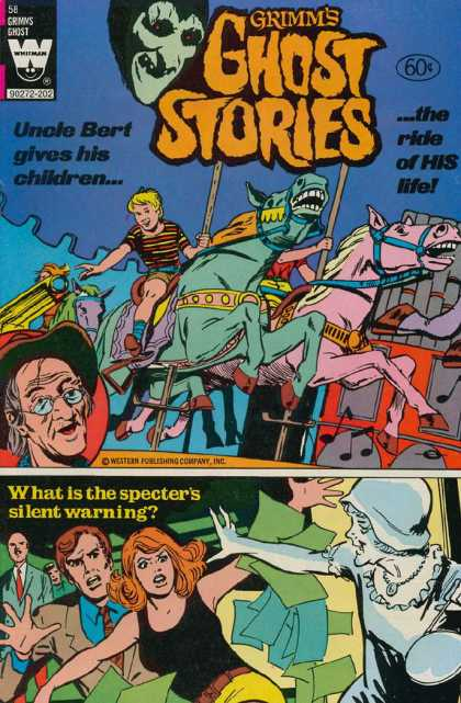 Grimm's Ghost Stories 58 - Uncle Bert - Pink Horse - Specters Silent Warning - Children - Ride Of His Life
