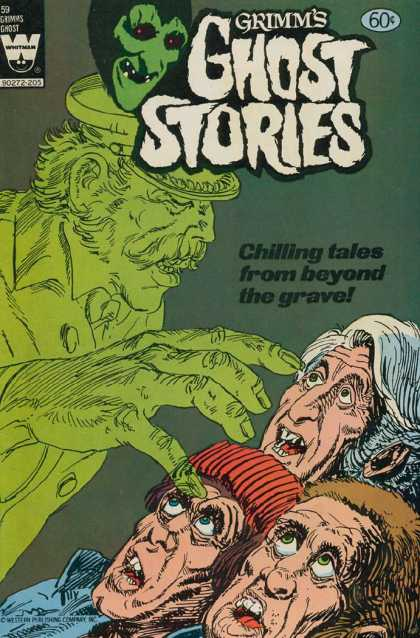 Grimm's Ghost Stories 59 - Horror - Ghost - Terror - Spirit - Whitman