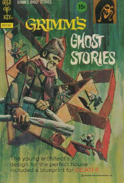 Grimm's Ghost Stories 8 - Gold Key - 15 Cents - Maze - Little Men