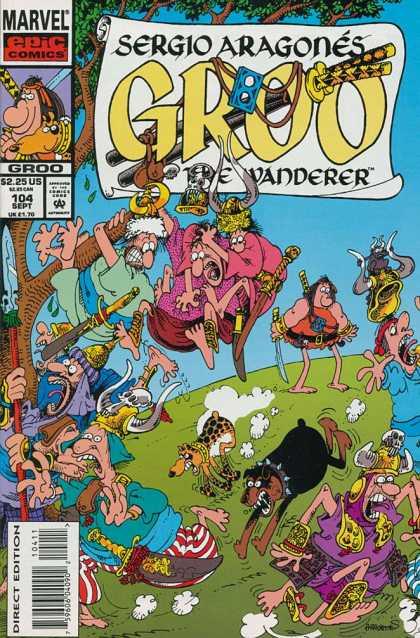 Groo The Wanderer 49 Marvel 1989