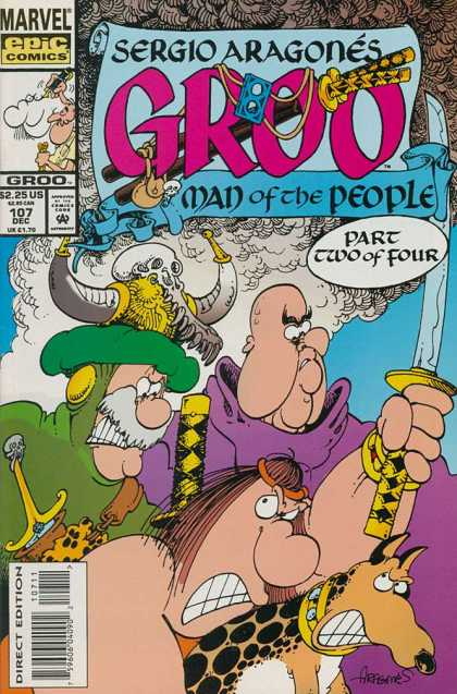 Groo the Wanderer 107 - Sergio Aragones - Man Of The People - Part Two Of Four - Marvel Epic Comics - Sword