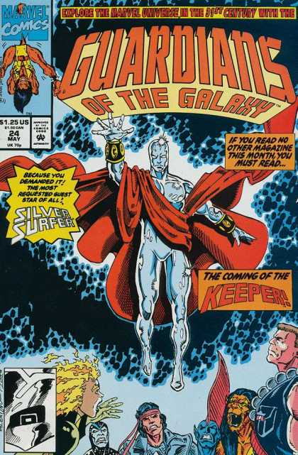 Guardians of the Galaxy 24 - Marvel Comics - 24 May - Explore The Marvel Universe In The 31st Century - The Comming Of The Keeper - Jim Valentino, Ron Lim