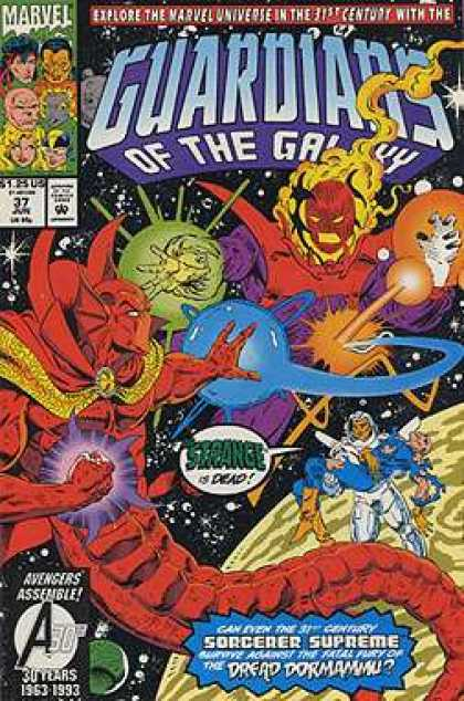 Guardians of the Galaxy 37 - Space - Planet - Dying - Villains - Marvel Universe