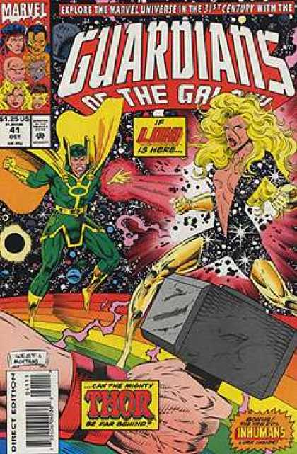 Guardians of the Galaxy 41 - Marvel - Superheroes - Costumes - Battle - Space