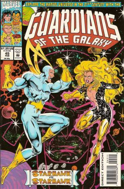 Guardians of the Galaxy 45 - Starhawk - Outer Space - 31st Century - Planets - Fighting