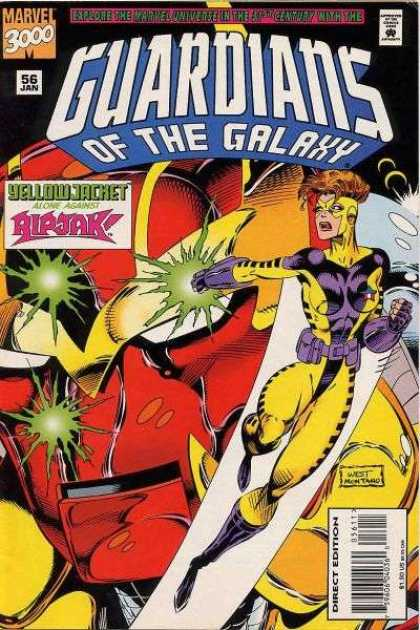 Guardians of the Galaxy 56 - Marvel 3000 - 56 January - Yellow Jacket - Ripjak - Explore The Marvel Universe In The 31st Century
