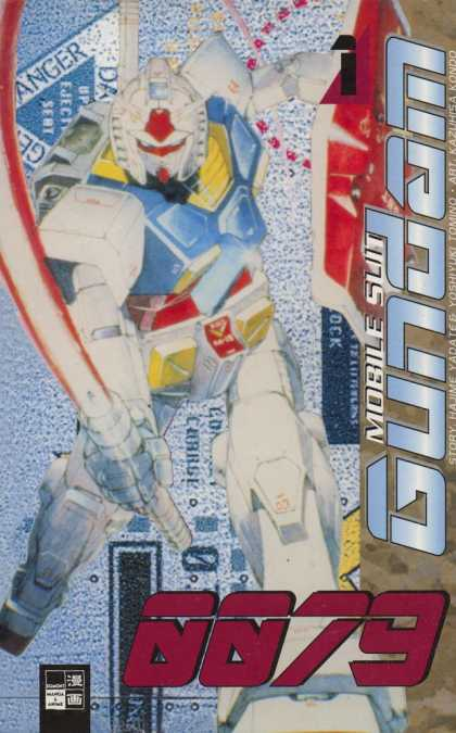 Gundam 0079 1 - Super Hero - Robot - Danger - Sword - Laser