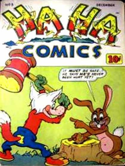 Ha Ha Comics 3 - Rabbit - Fox - 10c - December - Hammer