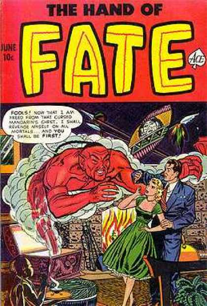Hand of Fate 11 - Genie - Red - Man And Woman - Fools - Spears