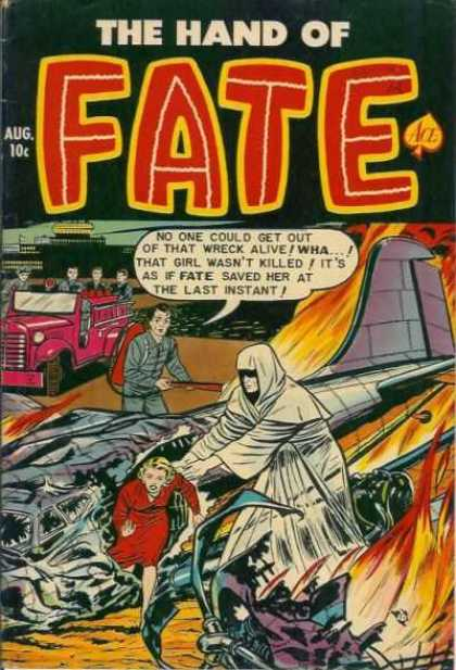 Hand of Fate 12 - August - 10 Cents - Speech Bubble - Car - Airplane
