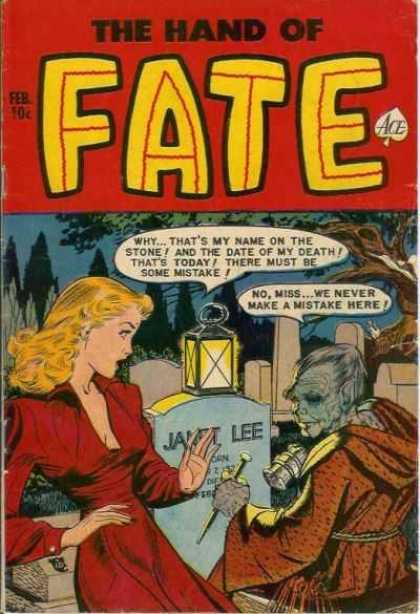 Hand of Fate 9 - Lantern - Ace - Janet Lee - Tombstone - Red Dress
