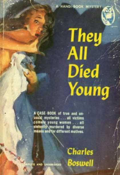 Handi Books - They All Died Young - Charles Boswell