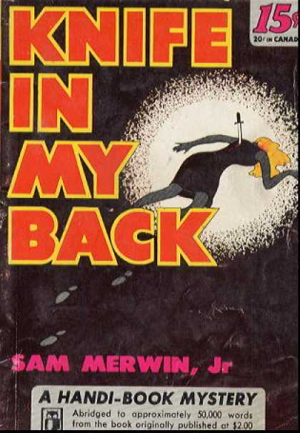 Handi Books - Knife In My Back - Sam Merwin