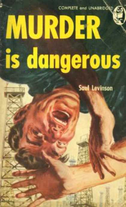 Handi Books - Murder Is Dangerous - Saul Levinson