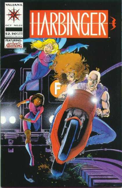 Harbinger 22 - Superheros - Crime Fighting - Violence - Heros - Bravery - Howard Simpson, Josef Rubinstein