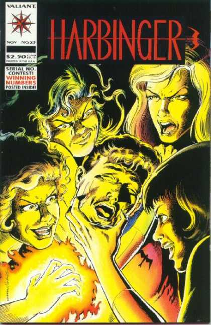 Harbinger 23 - Valiant - Magic - Four Women - One Male - Attack - Howard Simpson, Josef Rubinstein