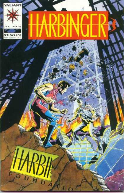 Harbinger 25 - Howard Simpson, Kevin Nowlan