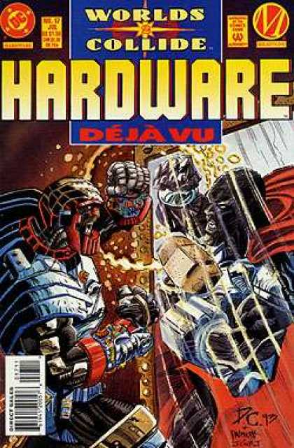Hardware 17 - Mirror War - Trap In The Mirror - Deja Vu All Over Again - Super Heroes And The Mirror - Worlds Collide - Denys Cowan, Jimmy Palmiotti