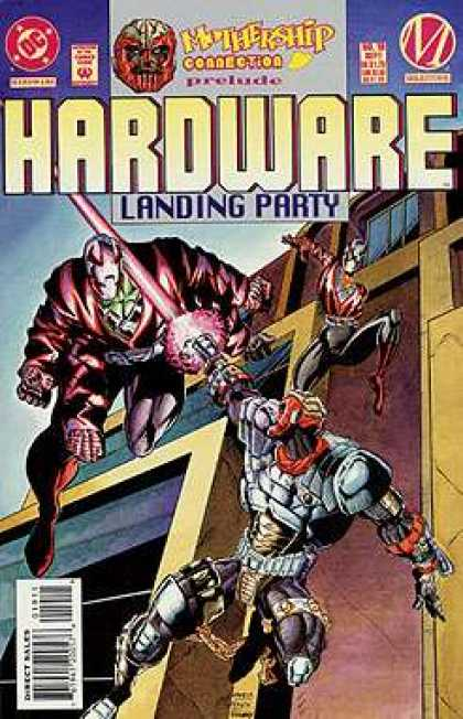 Hardware 19 - Armor - City - Building - Sword - Monsters - Humberto Ramos