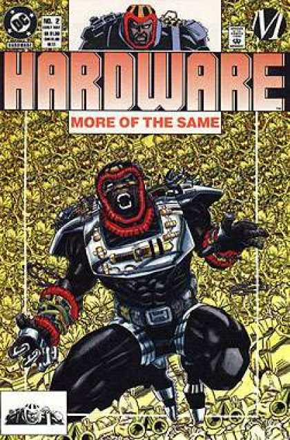 Hardware 2 - More Of The Same - Machine - Black Suit - Gold - Red Bands - Denys Cowan, Jimmy Palmiotti
