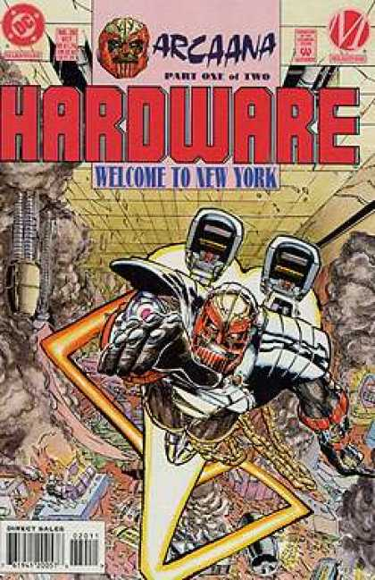 Hardware 20 - Arcaana - Dc - Chaos - Welcome To New York - Flight - Humberto Ramos