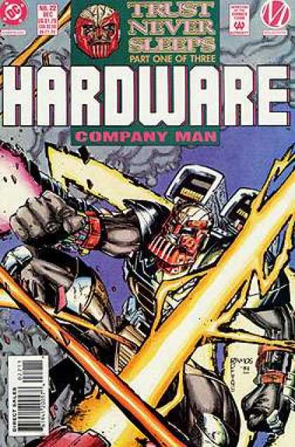 Hardware 22 - Company Man - Dollar Comics - Approved By The Comics Code Authority - Direct Sales - Humberto Ramos