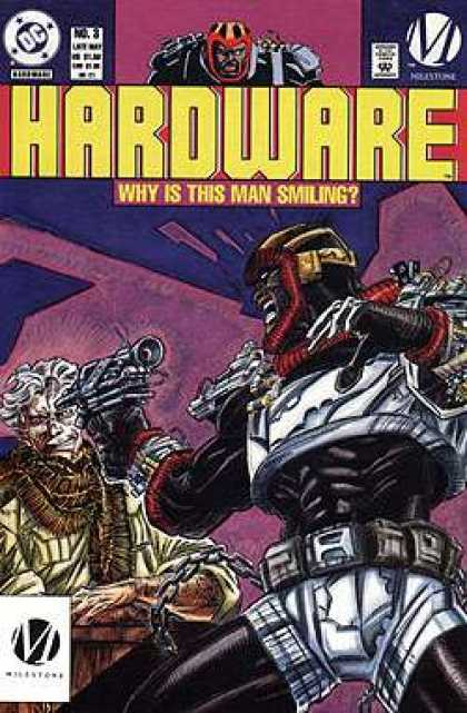 Hardware 3 - Approved By The Comics Code - Why Is This Man Smiling - Gun - Robot - Doctor - Denys Cowan, Jimmy Palmiotti