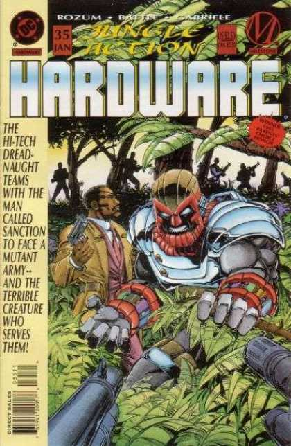 Hardware 35 - Dc - Superhero - Cyborg - Jungle - Terrorists