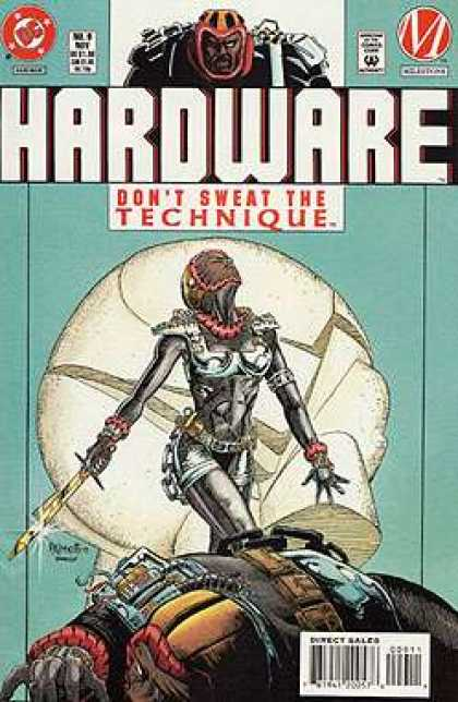 Hardware 9 - Hardware - Comic - Female Superhero - Sword - Villian - Jimmy Palmiotti