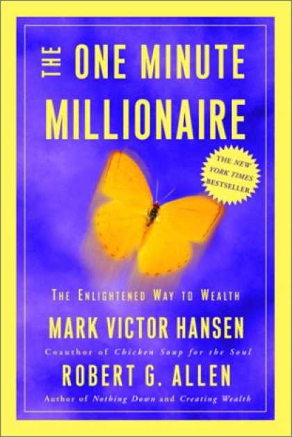 Harmony Books - The One Minute Millionaire: The Enlightened Way to Wealth
