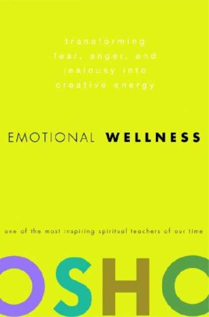 Harmony Books - Emotional Wellness: Transforming Fear, Anger, and Jealousy into Creative Energy