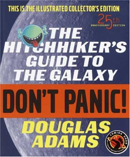 Harmony Books - The Hitchhiker's Guide to the Galaxy, Deluxe 25th Anniversary Edition