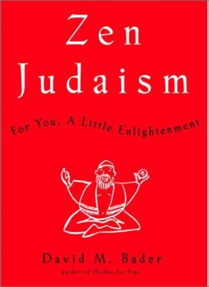 Harmony Books - Zen Judaism: For You, A Little Enlightenment
