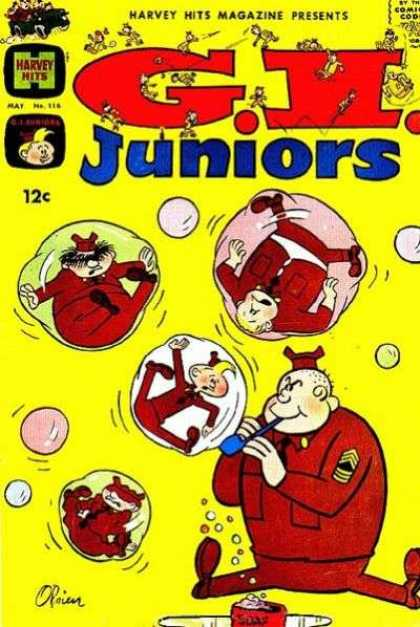 Harvey Hits 116 - Gi Juniors - Soldiers - Fat Soldier - Bubbles - Bold Soldier