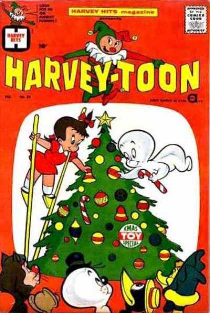 Harvey Hits 29 - Ghost - Stilts - Christmas Tree - Toy - Special