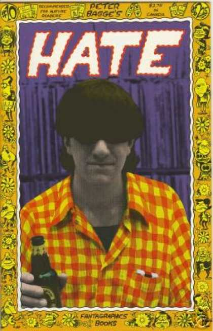 Hate 10 - Peter Bagges - Hate - Fantagraphics Books - 10 - Recommended For Mature Readers - Peter Bagge