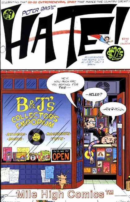 Hate 19 - Magazines - Pater Bags - Hate - Bu0026js Collectors Emporium - Mile High Comics - Peter Bagge