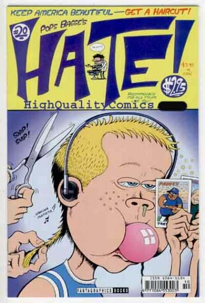 Hate 20 - Mirror - Scissors - Pete - Peter Bagge