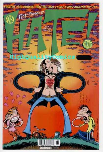 Hate 23 - Pete Bagge - 23 - Hate - High Quality Comics - 295 - Peter Bagge