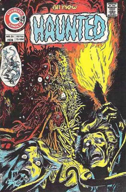 Haunted 20 - Charlton Comics - Torch - Monster - Eyeballs - Hands