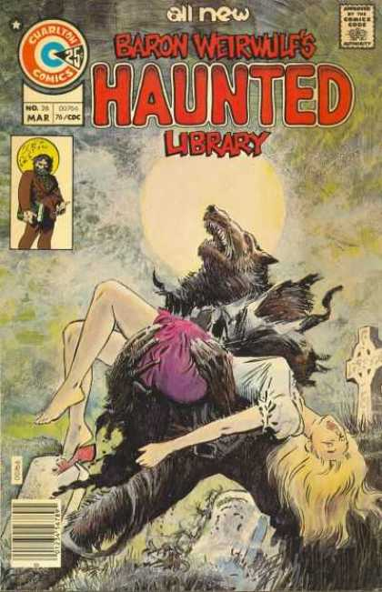 Haunted 26 - Wolf - Man - Woman - Moon - Fight