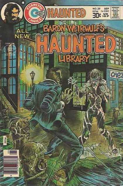 Haunted 29 - Baron Weirwulf - Zombie - Charlton - Dark - Scary