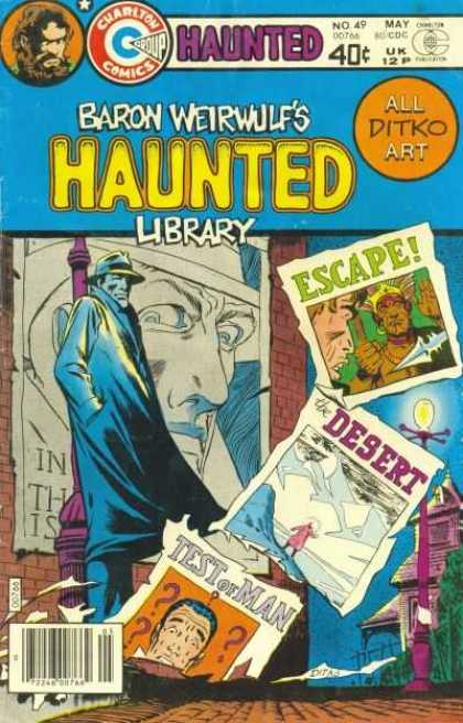 Haunted 49 - Charlton - Baron Weirwulf - May - 40 Cents - Escape