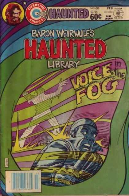Haunted 60 - Scared - Werewolf - Hearing Voices - Fog - Library