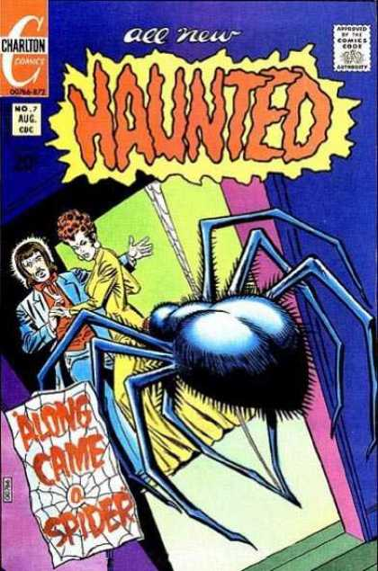 Haunted 7 - Spider - Web - Girl - Guy - Doorway